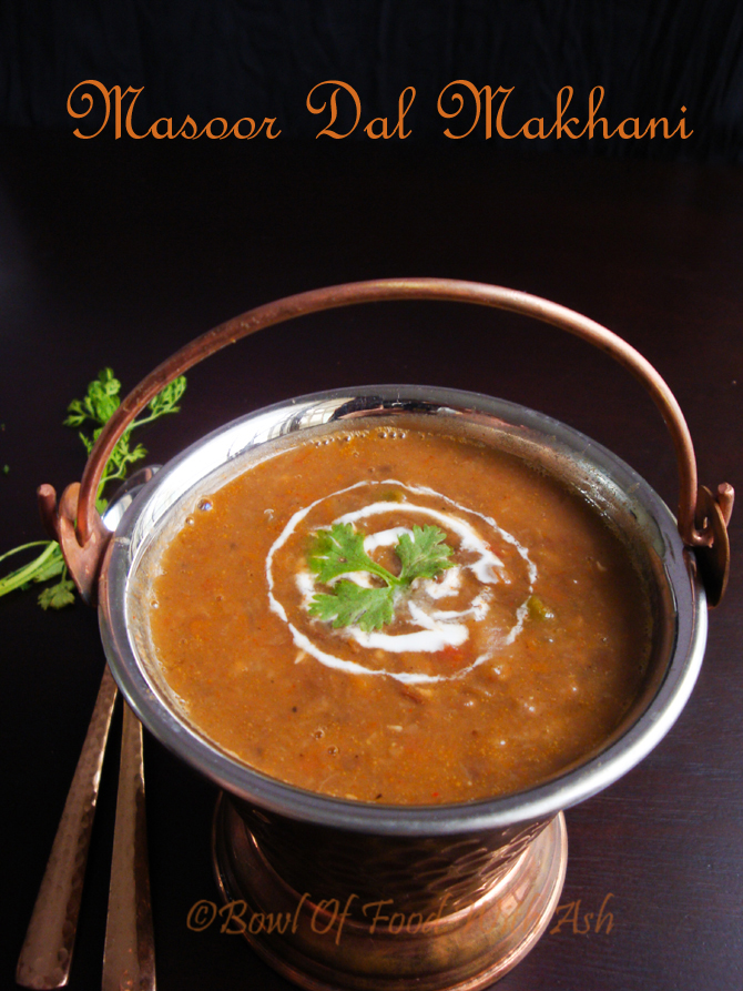 Masoor Dal Makhani Recipe | How to make Masoor Dal Makhani