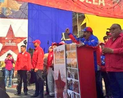 Maduro anunció incremento del 30% del salario mínimo y pensiones