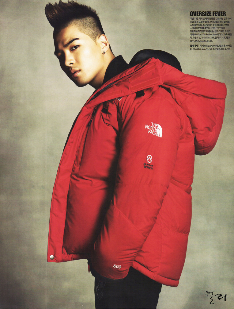 Taeyang  Photos Taeyang-North-Face-Singles-Magazine_005