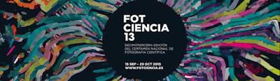 13ª edición del concurso Fotciencia.