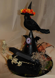 "Halloween ""Home Decor"" Witches Hat"