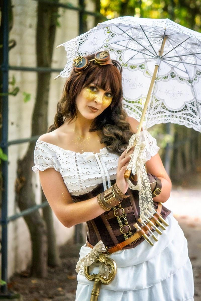 Steampunk Princess in Elfia 2014 (Arcen)