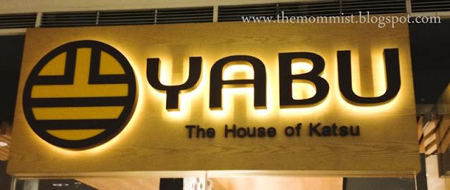 Yabu House of Katsu signage