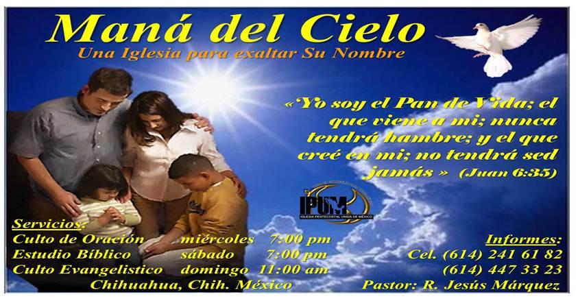 Iglesia Pentecostal Maná Del Cielo