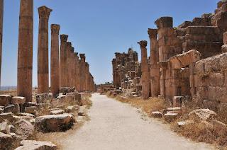 Cardo Máximo en Jerash