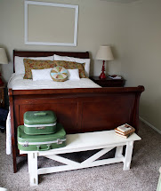 Pottery Barn Sleigh Bed