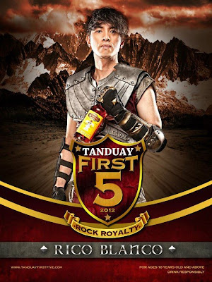Tanduay First Five 2012: Rico Blanco