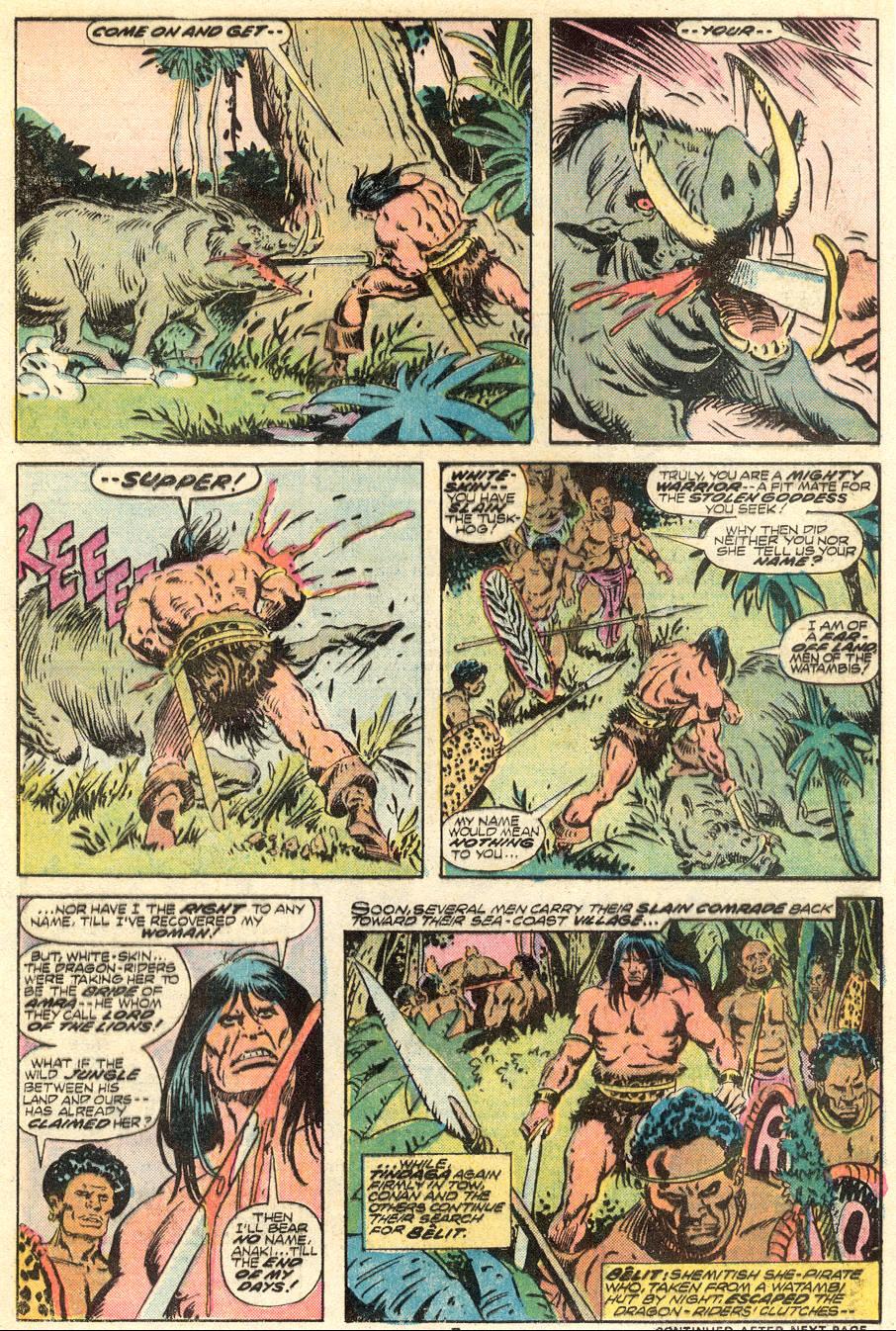 Conan the Barbarian (1970) Issue #62 #74 - English 6