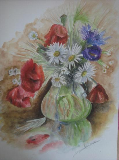 Les FLEURS  dans  L'ART - Page 11 Photo0296