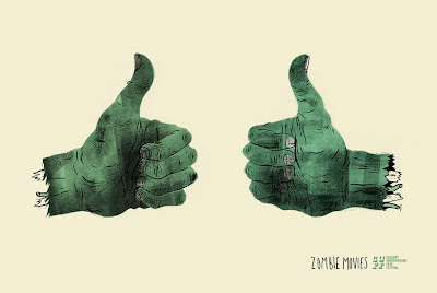34 cuffposter2zombie Two (severed) thumbs up for Byron Eggenschwilers Calgary Film Festival posters