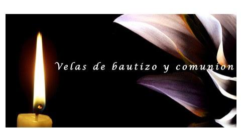 Velas de BAUTISMO Y,COMUNIÓN,BODAS Y CELEBRACIONES -DECORADAS.