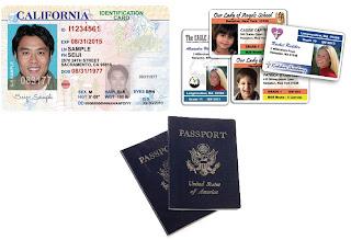 ID's and passport