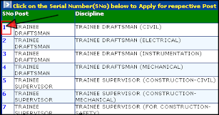 Choose Online Form for EIL Diploma Trainee recruitment 2012