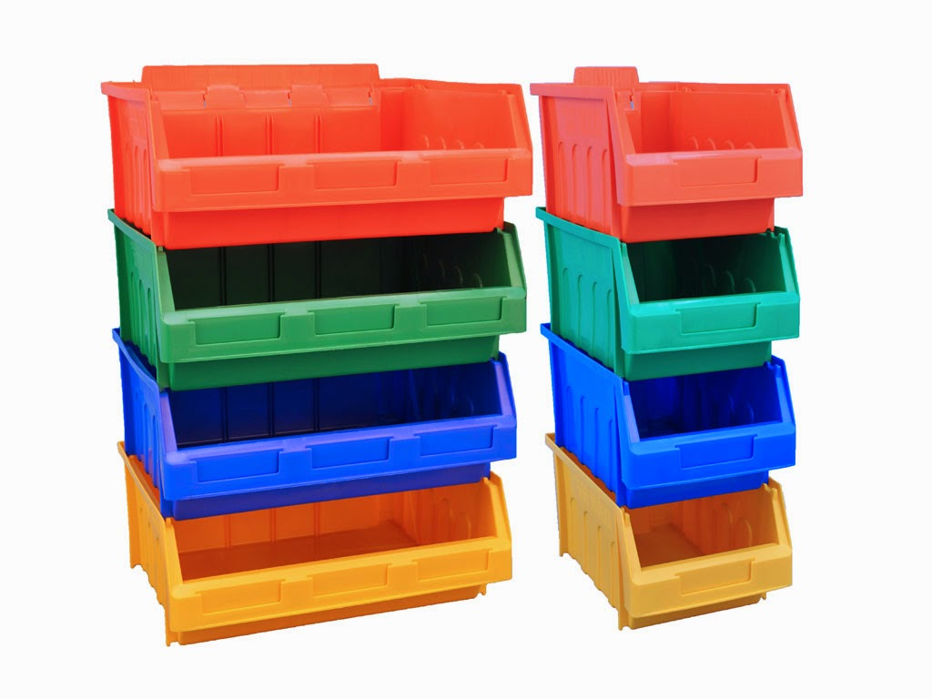 Maxi plastic bins ideas