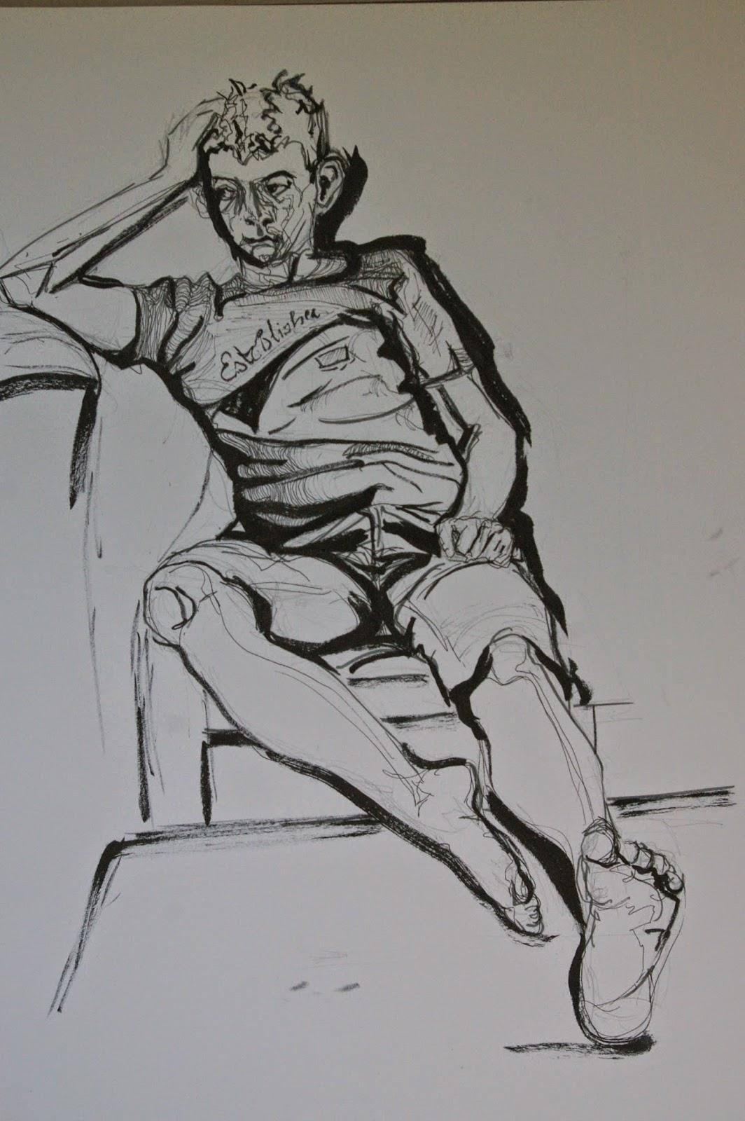 aylish s oca learning log exercise line drawing of the whole figure