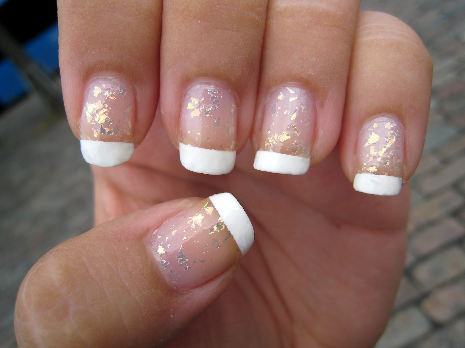 Purple Polish: French Manicure with China Glaze \