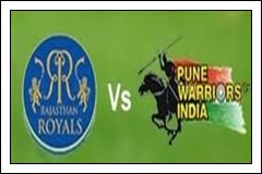 (8th-May-12) IPL-5 - Rajasthan Royals vs Pune Warriors (50th Match Highlights)