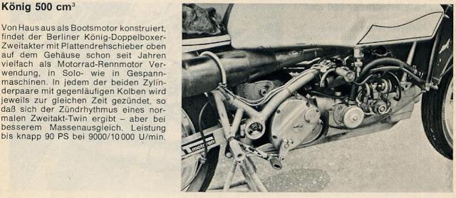 Konig 500 GP Motorcycle