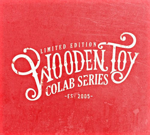 Logótipos Vintage - Wooden Toy - Colab Series