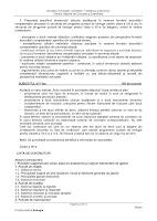 Subiect model biologie - titularizare 2012