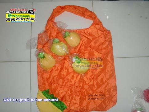 tas jeruk bahan habutai jual
