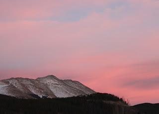 Colorado, Breckenridge, mountain, sunset, weather