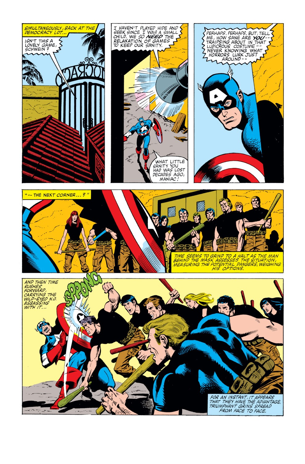 Captain America (1968) Issue #263 #178 - English 11
