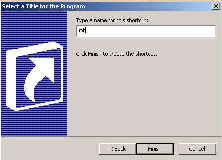 Create Shortcut for Mozilla Firefox