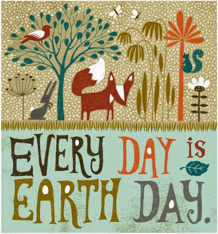 Richard Faust's Earth Day Illustration
