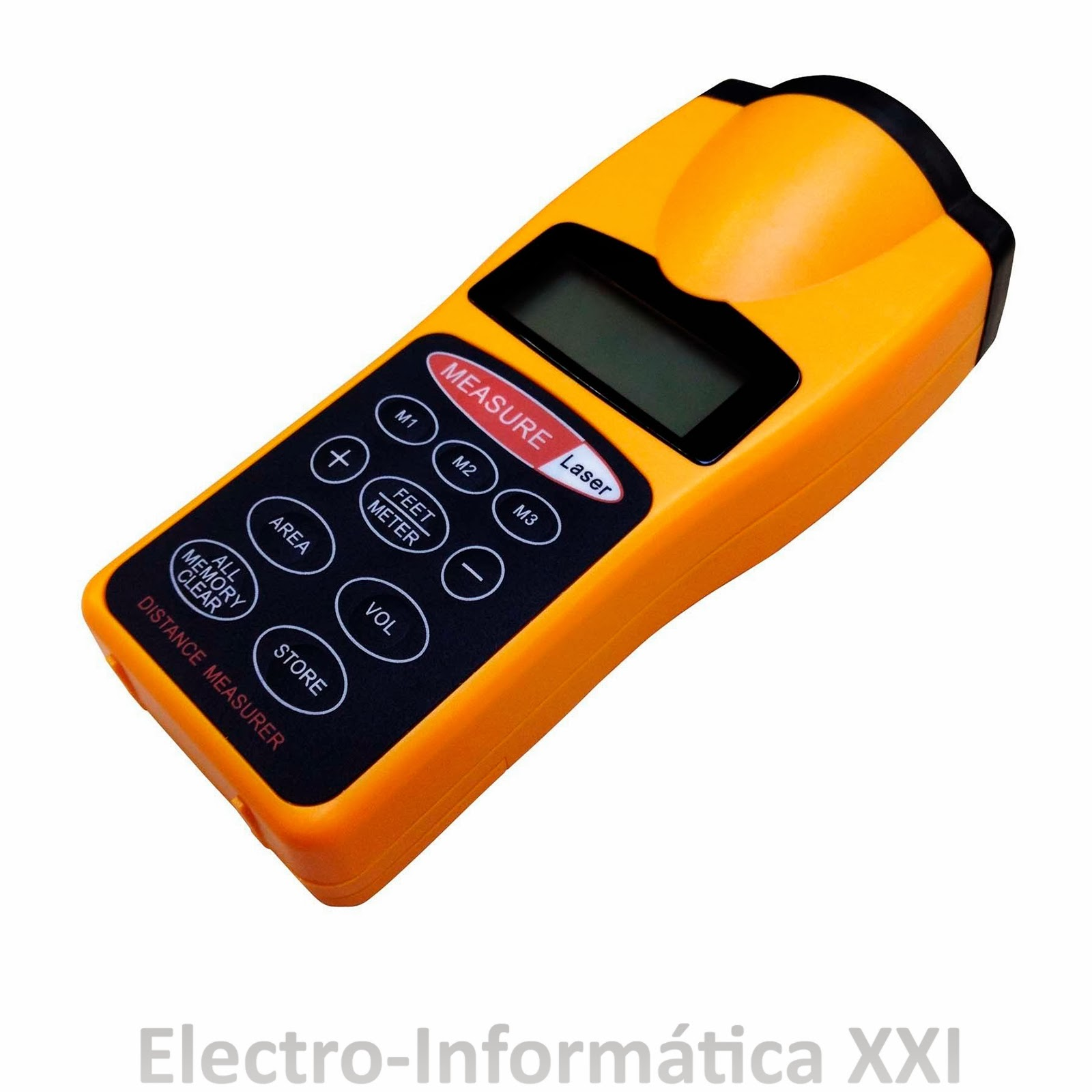 Medidor de distancias por ultrasonidos con laser digital - Medidor de distancia ...
