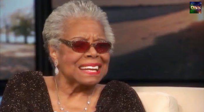 Maya Angelou, Oprah, OWN, I know why the caged bird sings, angelou quotes,