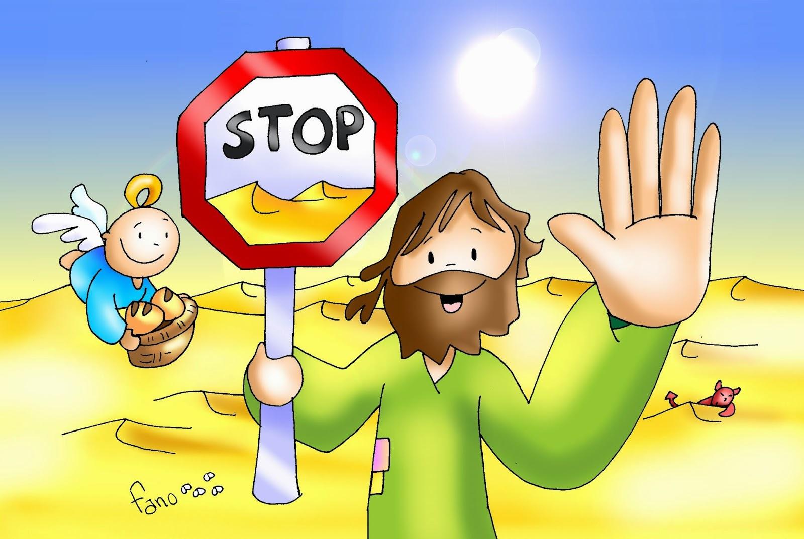 Recursos para mi clase: PRIMER DOMINGO DE CUARESMA: ¡STOP