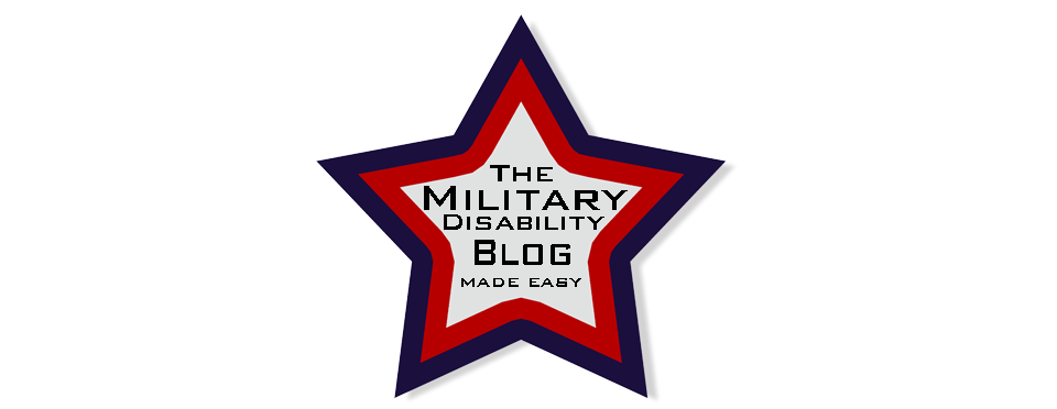 The Blog at Military Disability Made Easy