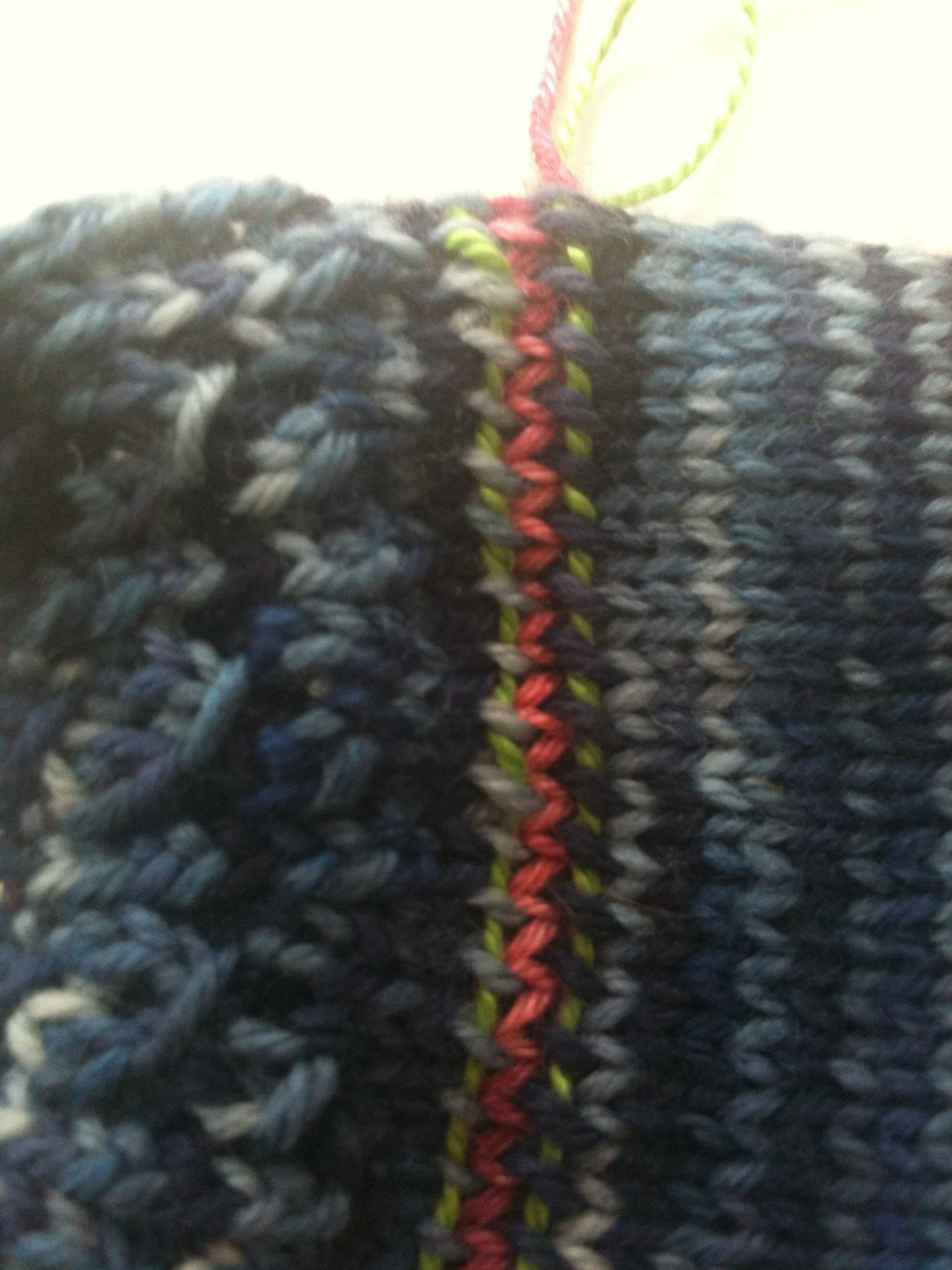 Knitting Lifeline After The Fact : Knit better socks improving afterthought or forethought