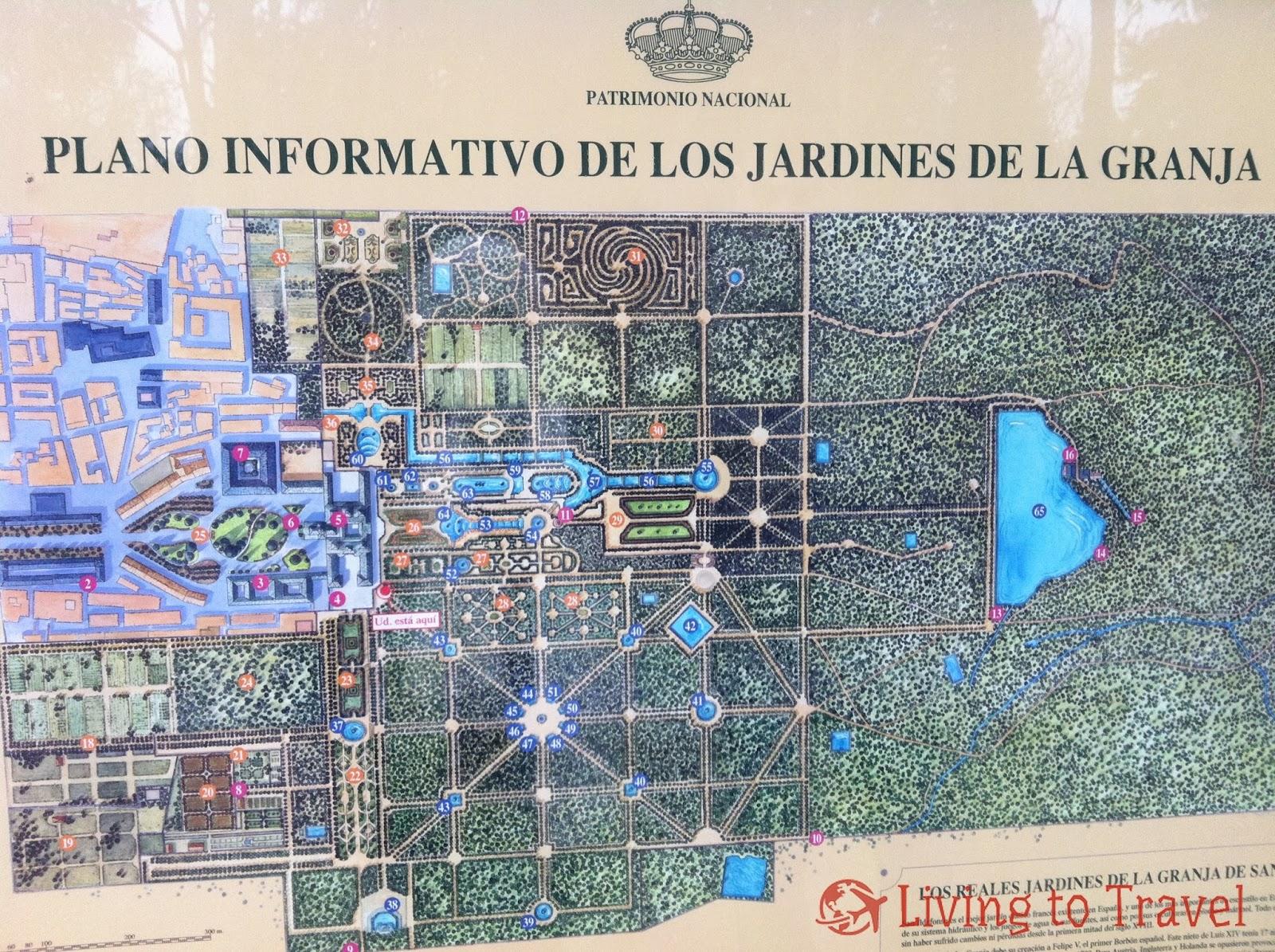 Jardines del palacio real de la granja de san ildefonso - Los jardines de lola ...