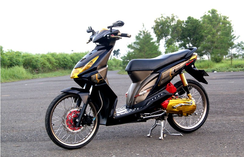 Modifikasi Honda Beat Elegan