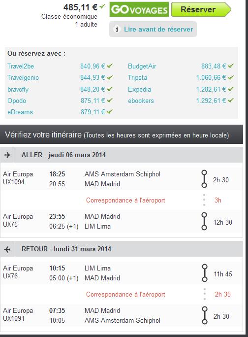 Lima Air Europa