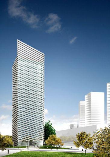Nueva sede de puig rafael moneo arquitectura en barcelona for Oficina correos hospitalet