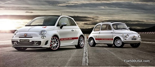 Abarth 595 '50th Anniversary' and original
