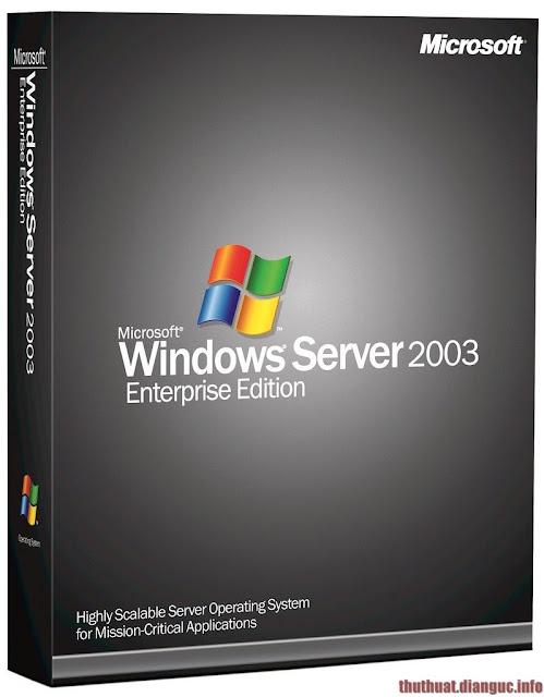 Download Windows Server 2003 Enterprise Edition