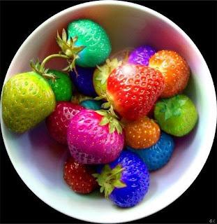 Fresas de todos los colores