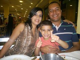 Evangelista Rafael Gomes e Família