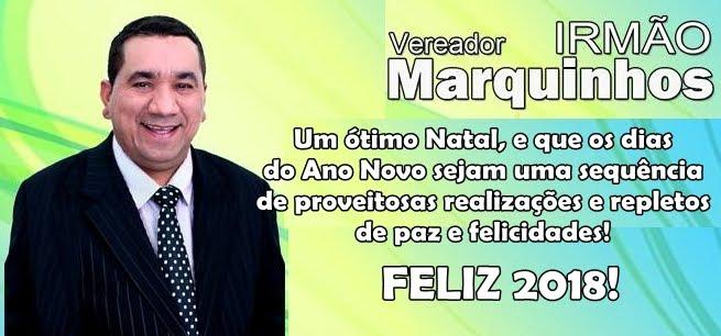 MENSAGEM DO VEREADOR IRMÃO MARQUINHO