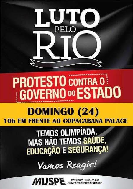 24 de julho, 10h: Rio de Janeiro