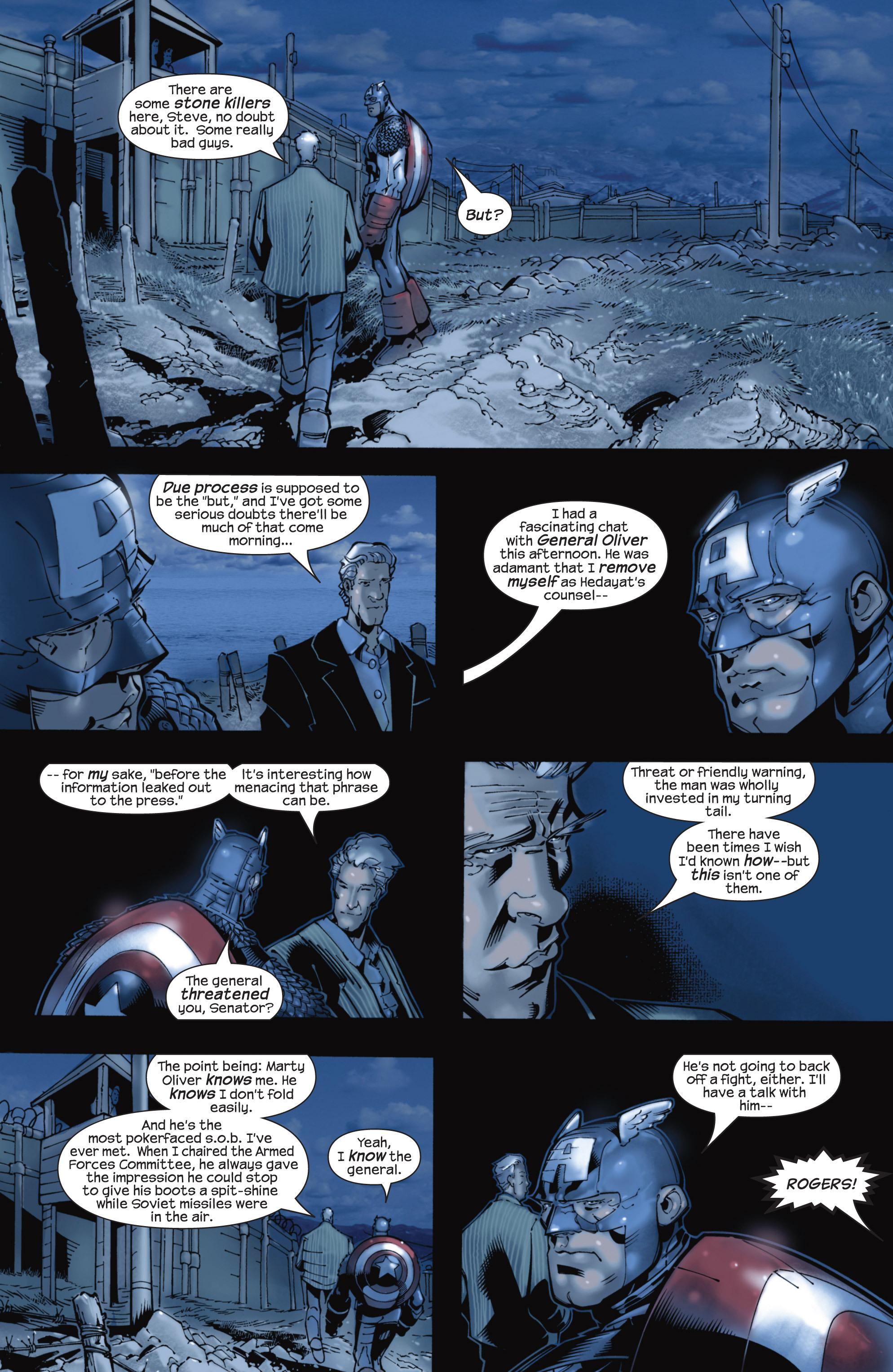 Captain America (2002) Issue #22 #23 - English 18