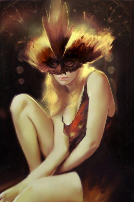 jace wallace ilustrações digitais mulheres belas sensuais fantasia