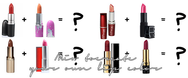 DIY! Mix Your Own Lip Color in 4 Easy Steps! ~ Get Better ...