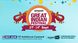 Amazon Great India Festival Sale 2017