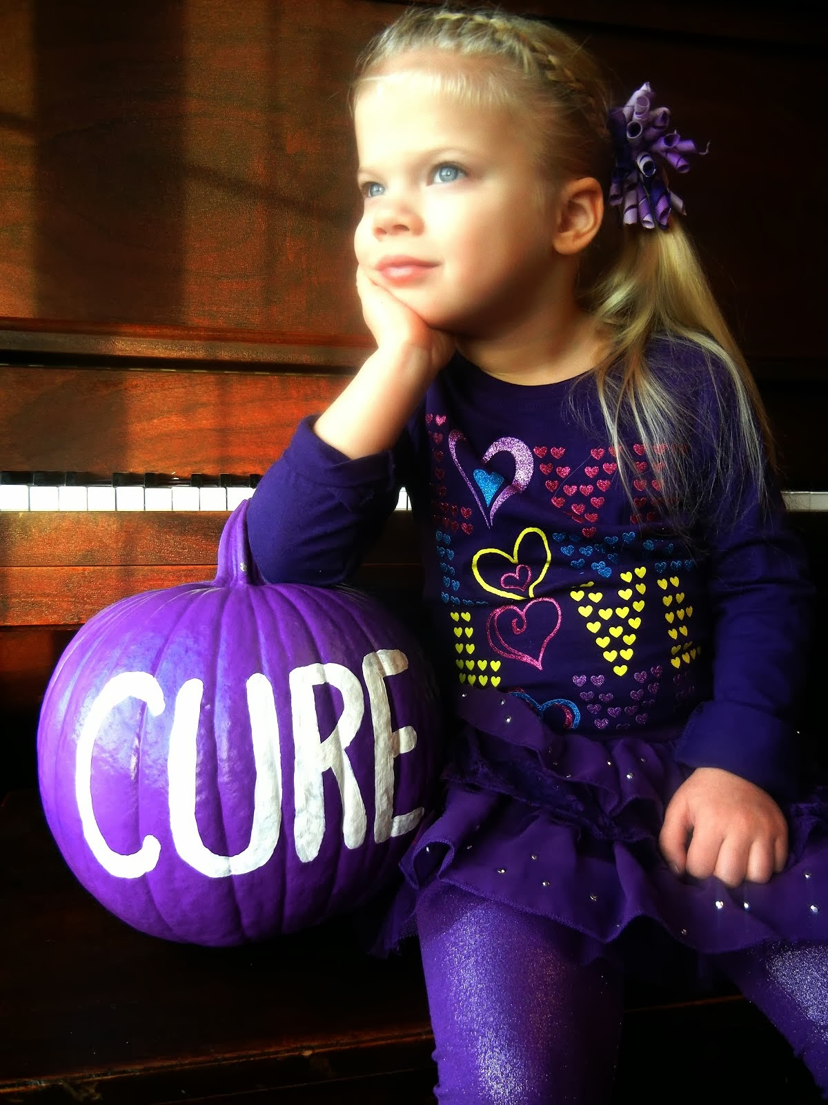 Luella Waits for a Cure