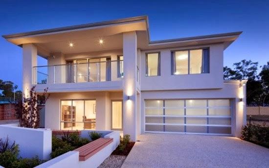 Gambar Desain Rumah Tingkat Minimalis 2 Lantai Modern | Desain Rumah ...